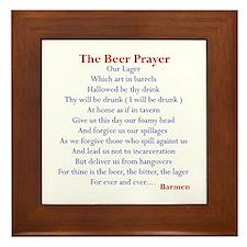 Bar Gifts, Beer Framed Tile