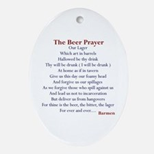 Bar Gifts, Beer Oval Ornament