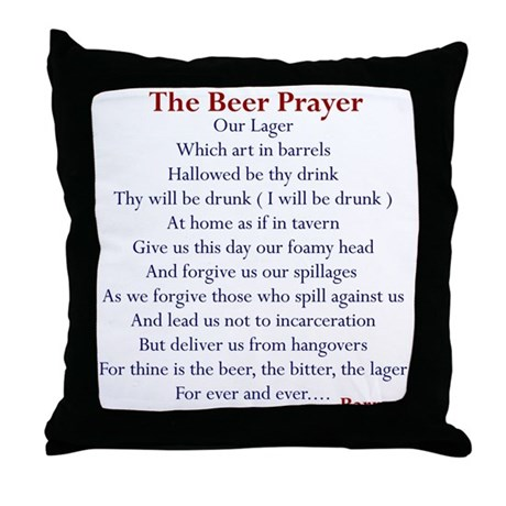 Bar Gifts, Beer Throw Pillow