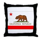 California souvenirs Throw Pillows