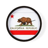 California souvenirs Wall Clocks