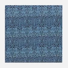 Morris Brother Rabbit design Tile Coaster