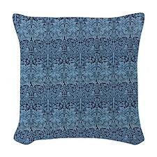 Morris Brother Rabbit design Woven Throw Pillow