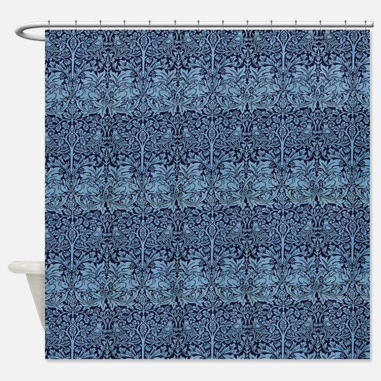 Morris Brother Rabbit design Shower Curtain