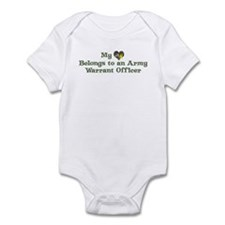 My Heart: Warrant Officer Infant Bodysuit