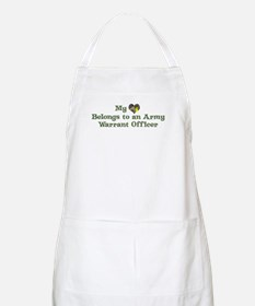 My Heart: Warrant Officer BBQ Apron