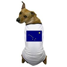 Alaska Flag Dog T-Shirt