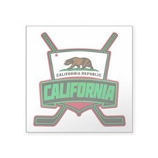 California Hockey Logo Shield Sticker