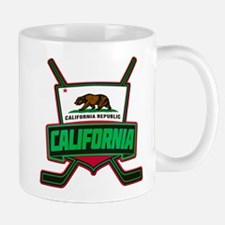 California Hockey Logo Shield Mug