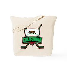 California Hockey Logo Shield Tote Bag