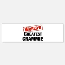 World's Greatest Grammie Bumper Bumper Bumper Sticker