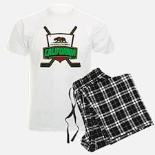 California Hockey Logo Shield Pajamas