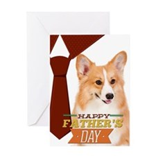 Corgi Father's Day Card