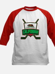 California Hockey Logo Shield Baseball Jersey