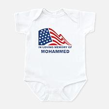 Loving Memory of Mohammed Infant Bodysuit