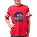 Obama Youth Football Shirt