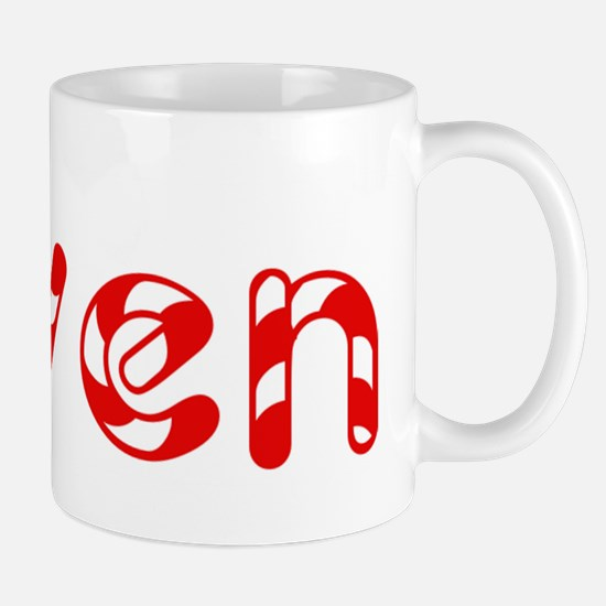 Gwen - Candy Cane Mug