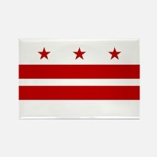 DC Flag Rectangle Magnet
