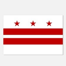 DC Flag Postcards (Package of 8)