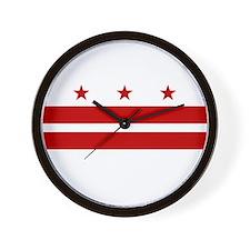 DC Flag Wall Clock