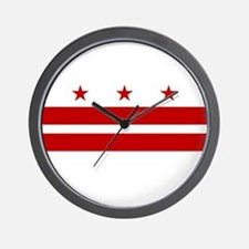DC Flag Wall Clock