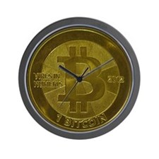 Casascius Bitcoin Wall Clock