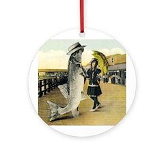 Giant Fish Ornament (Round)