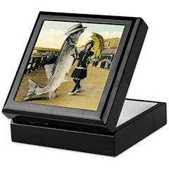 Giant Fish Keepsake Box