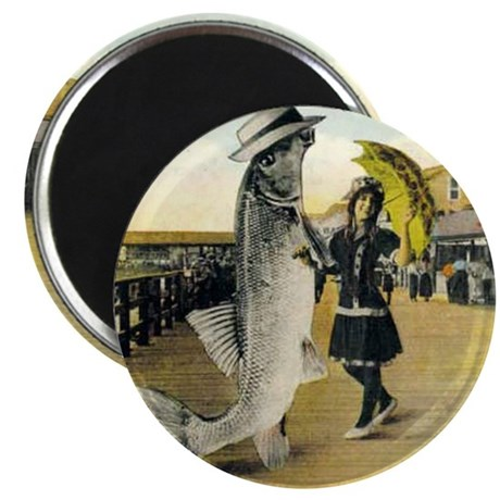 "Giant Fish 2.25"" Magnet (100 pack)"