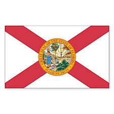 Florida Flag Rectangle Decal