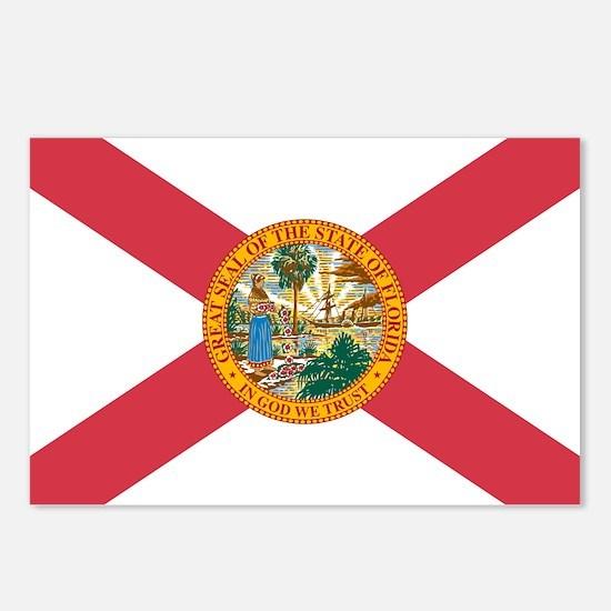Florida Flag Postcards (Package of 8)