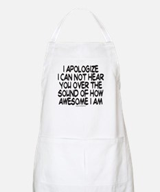SOUND OF HOW AWESOME I AM Apron