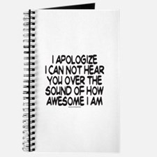 SOUND OF HOW AWESOME I AM Journal