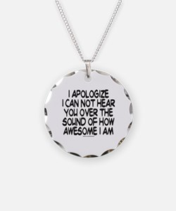 SOUND OF HOW AWESOME I AM Necklace
