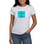 I'M NAUGHTY BUT NICE Women's T-Shirt