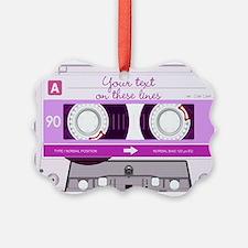 Cassette Tape - Pink Ornament