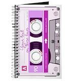 Cassette tape Journals & Spiral Notebooks