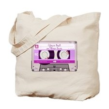 Cassette Tape - Pink Tote Bag