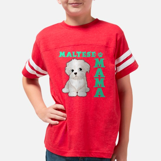 MALTESE MAMA Youth Football Shirt