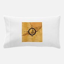 Key West Compass Rose Pillow Case