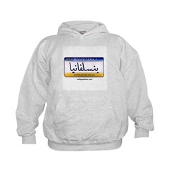 Pennsylvania License Plate Hoodie