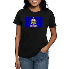 Kansas Flag Tee