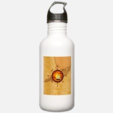 Florida Keys Map Compass Water Bottle