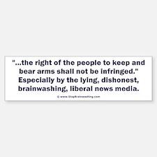 Right to bear arms Bumper Bumper Sticker
