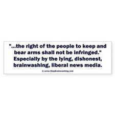 Right to bear arms Bumper Sticker