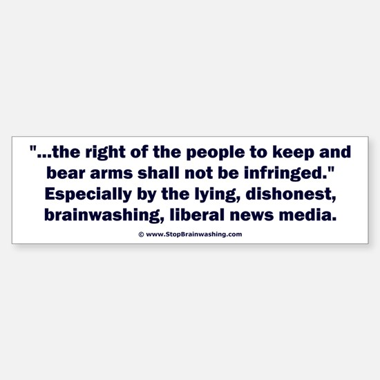Right to bear arms Sticker (Bumper)