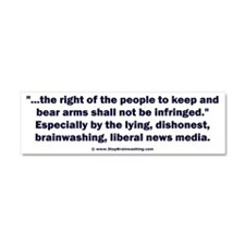 Right to bear arms Car Magnet 10 x 3