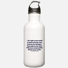 Right to bear arms Water Bottle