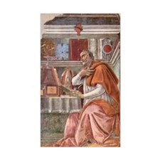 Augustine of Hippo by Botticel Decal