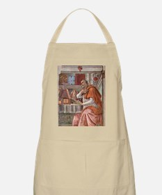 Augustine of Hippo by Botticelli Apron